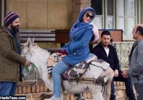 هانیه توسلی در فیلم جهان با من برقص