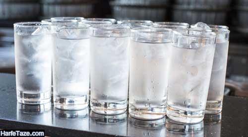 عوارض نوشیدن آب سرد