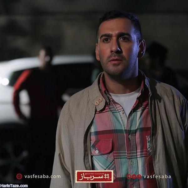 نیما شعبان نژاد از بازیگران سریال سرباز