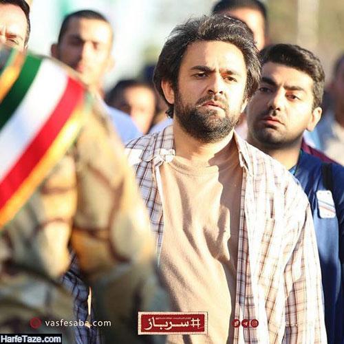 علی عامل هاشمی از بازیگران سریال سرباز