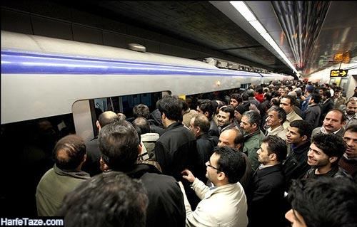 انتقال کرونا از طریق مترو