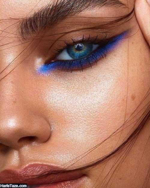 خط چشم آبی کلاسیک