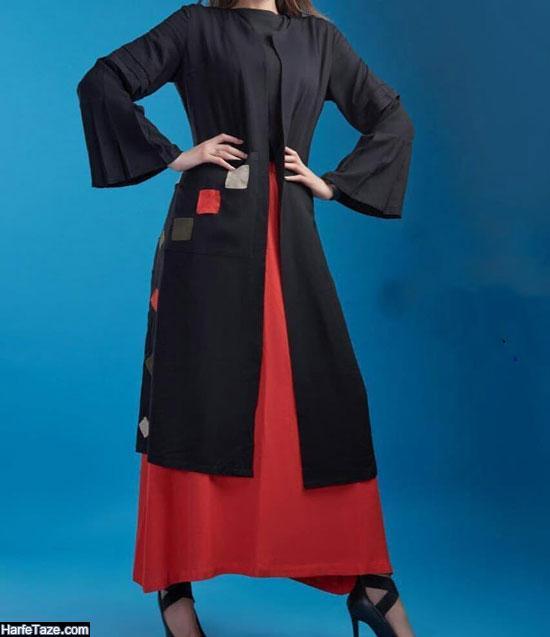 مدل مانتو با دامن پلیسه برای عید 99