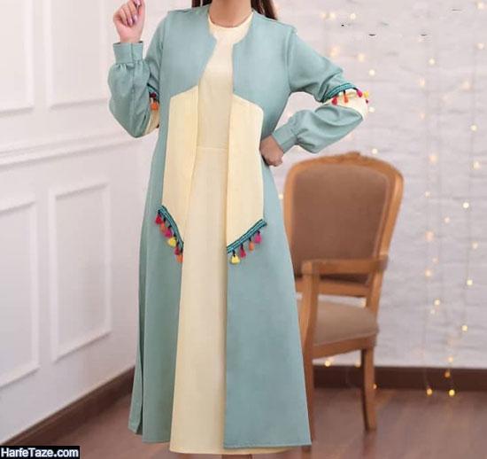 مدل مانتو دامن مجلسی زنانه