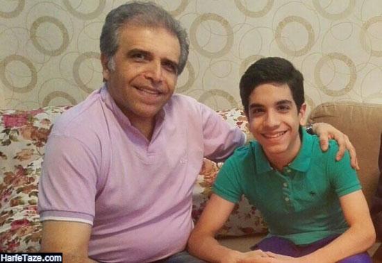 عکس پیمان پسر مهران امامیه مجری برنامه زنده رود