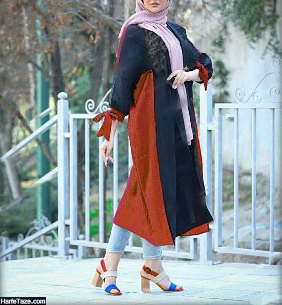 مدل مانتو بهاری نخی دخترانه جدید