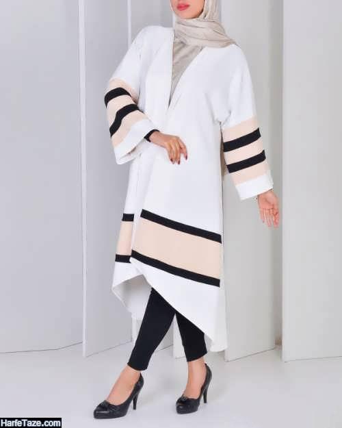 مدل مانتو کیمونو تابستانی با طرح های سنتی