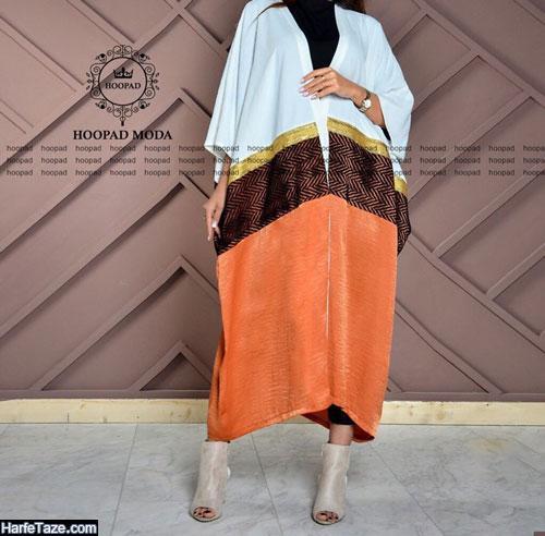 جدیدترین مدل مانتو کیمونو ترکیبی 99