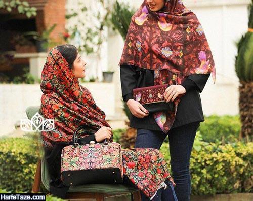 روسری طرحدار سنتی 99