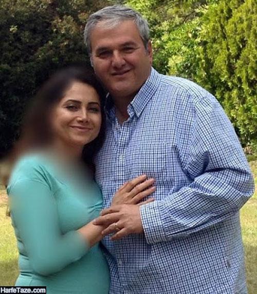 عکس مژگان شجریان و همسرش محمدعلی رفیعی