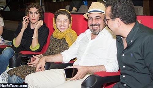 رضا عطاران و ویشگا آسایش
