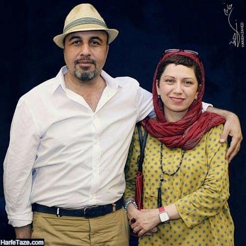 عطاران و همسرش