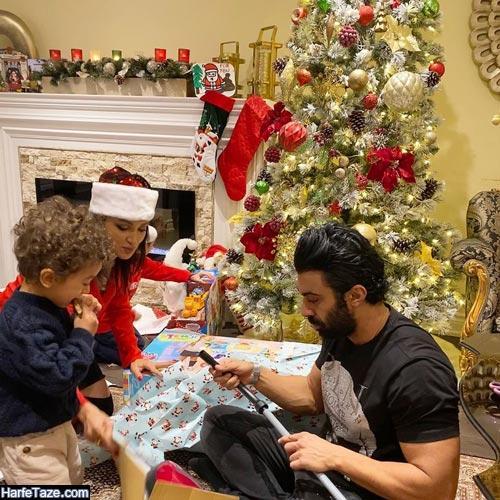 روناک یونسی و محسن میری کریسمس 2020
