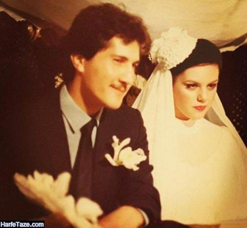 مراسم عروسی شاهرخ فروتنیان و افسانه چهره آزاد