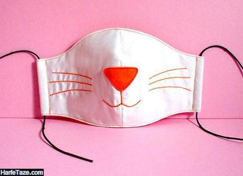 ایده هایی برای تزئین دوخت ماسک پارچه ای برای بچه ها