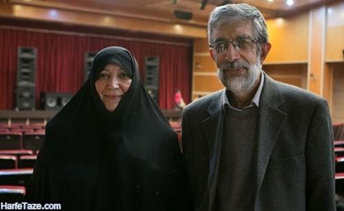 عکس پدر و مادر فریدالدین حدادعادل