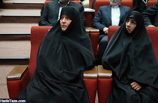 عکسهای فاطمه رهبر سیاستمدار زن ایرانی