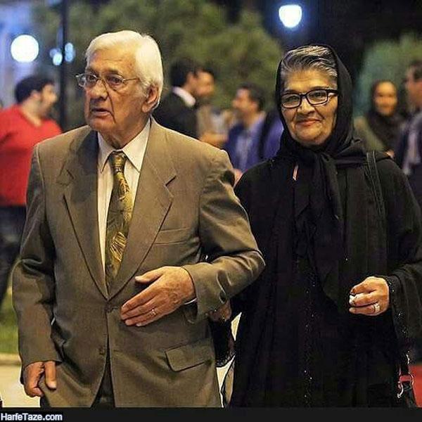 پروین صالح همسر هوشنگ ظریف استاد تار کیست؟