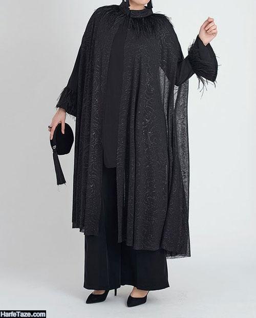 مدل مانتو خفاشی سایز بزرگ 99