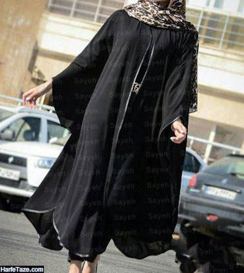 مدل مانتو خفاشی دخترانه جدید 99