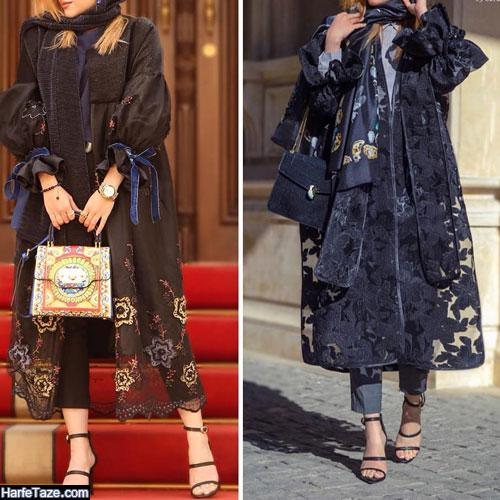 مدل مانتو خفاشی جدید برای عید نوروز 99
