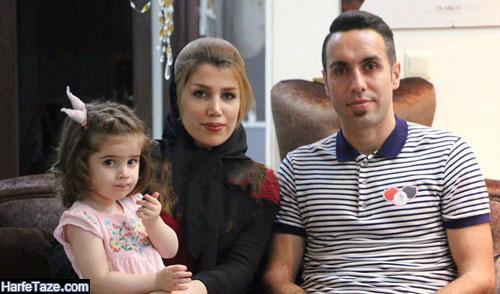 همسر محمد مختاری بازیکن فوتبال کیست؟