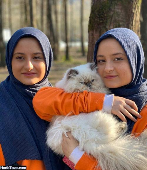 زندگی شخصی سارا و نیکا فرقانی اصل بازیگران سریال پایتخت