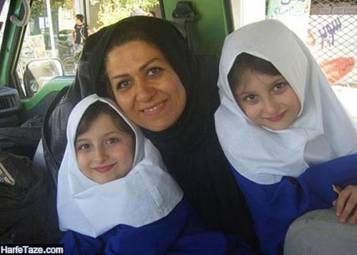 عکسهای پدر و مادر سارا و نیکا فرقانی اصل