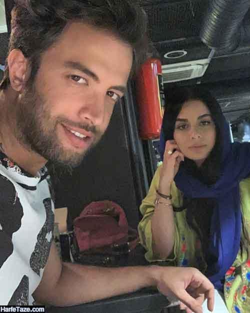 عکسهای جدید همسر دوم بنیامین بهادری