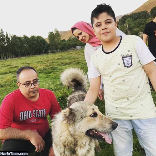 همسر علی ابوالحسنی بازیگر کیست؟