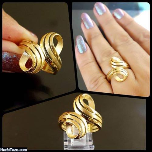 مدل انگشتر طلا زنانه 99