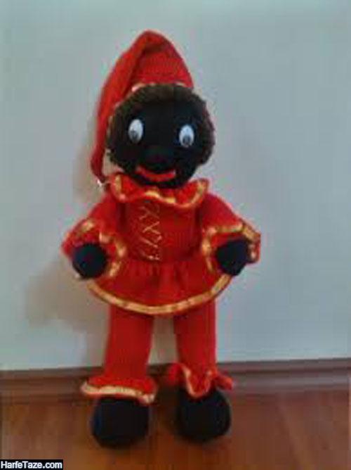 مدل عروسک حاجی فیروز با تخم مرغ