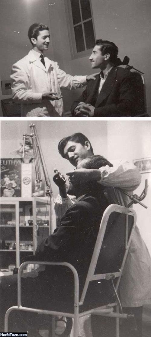 تصاویر جوانی دکتر اسماعیل یزدی پدر دندانپزشکی نوین