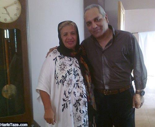 گیتی معین و همسرش