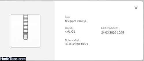 لو رفتن اطلاعات شخصی کابران ایرانی تلگرام
