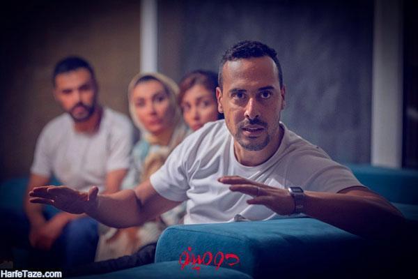 عکس شخصی کیوان بازیگر سریال دومینو