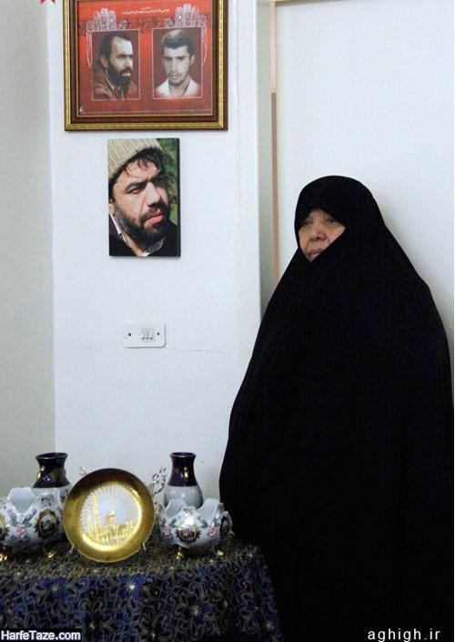 عکس مادر حاج محمود کریمی