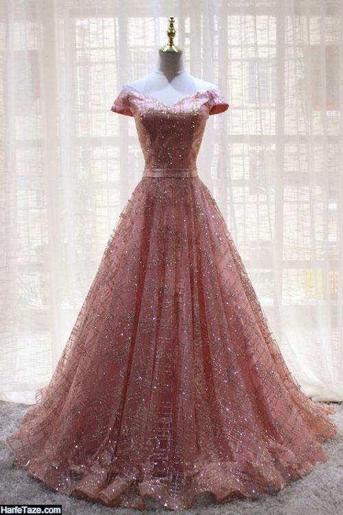 مدل لباس مجلسی گیپور 2020 شاین