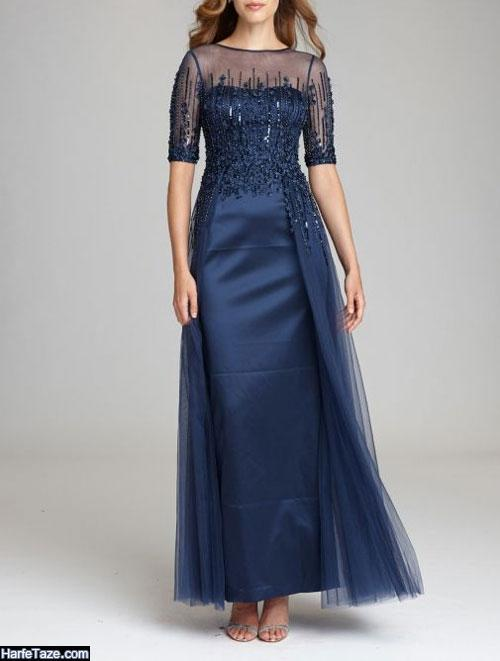 مدل جدید لباس مجلسی گیپور دخترانه 99