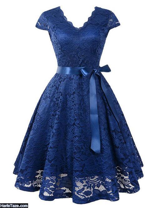 مدل لباس مجلسی گیپور 99 - 2020 در انواع ساده و ترکیبی با ساتن