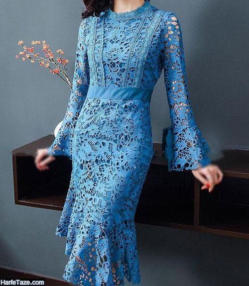 جدیدترین مدل لباس مجلسی گیپور 2020