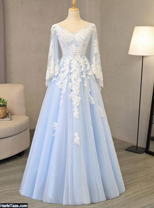 مدل لباس مجلسی گیپور نامزدی 2020
