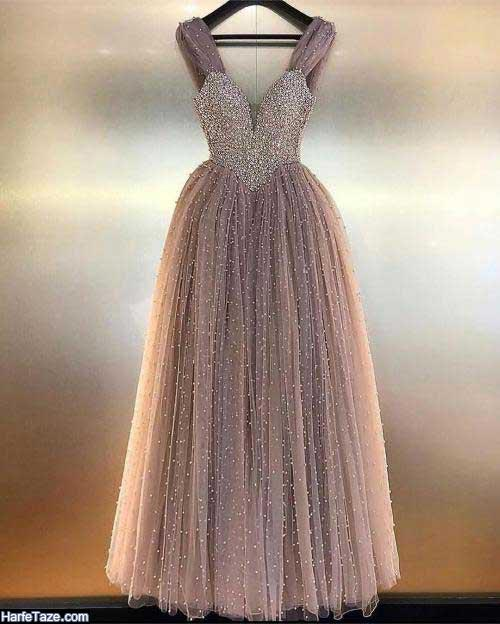 مدل شیک لباس مجلسی رسمی بلند ویژه نوروز 99