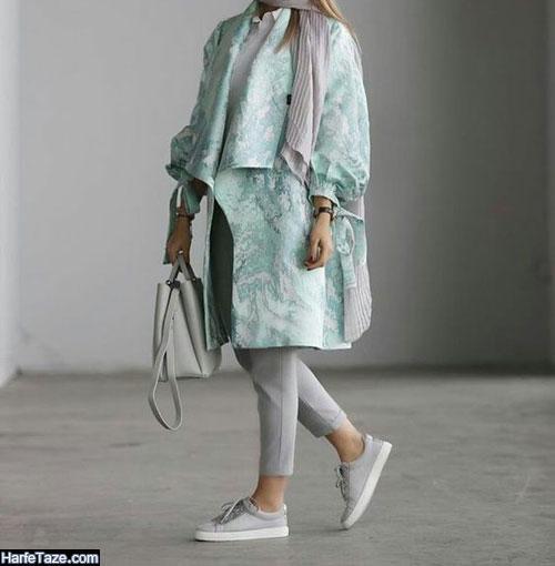 مدل مانتو کتی اسپرت دخترانه برای عید 99