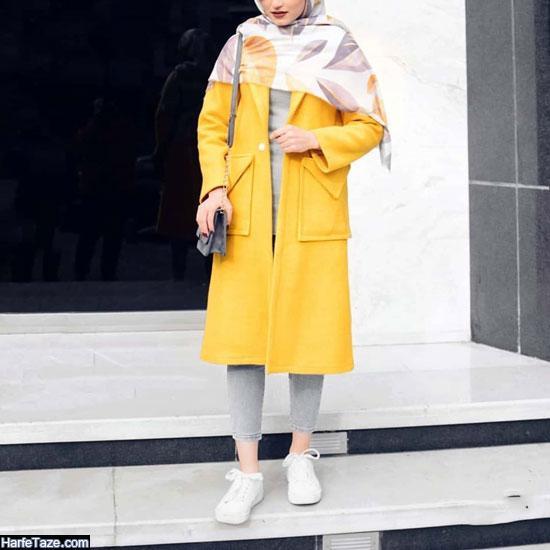 مدل مانتو کتی جلو باز دانشجویی 99