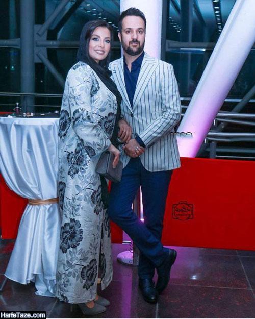 عکسهای دونفره جدید مونا فائزپور و همسرش
