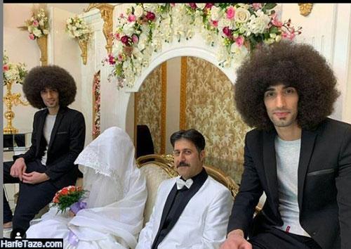 عکسی از هومن حاج عبداللهی و بازیگران نقش رحمان ، رحیم در سریال پایتخت 6