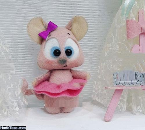 مدل موش نمدی ساده برای هفت سین 99