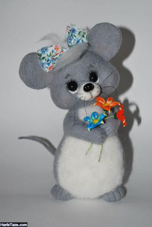 مدل موش نمدی گوگولی
