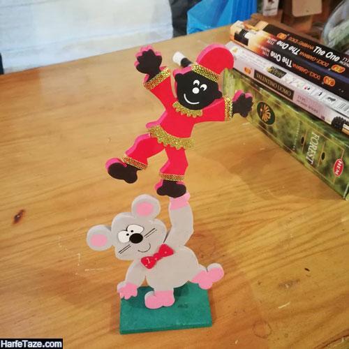 مدل استند عروسک موش نمدی 99